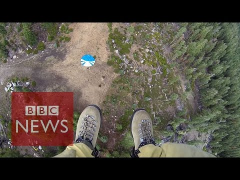 Smokejumpers: Into fire with California's elite firefighters - BBC News