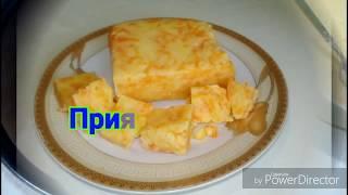 Пирог без муки,яиц и сахара