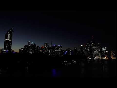 Brisbane city time-lapse - 15/05/2016