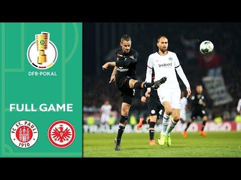 FC St. Pauli Vs. Eintracht Frankfurt   Full Game   DFB Cup 2019/20   2nd Round