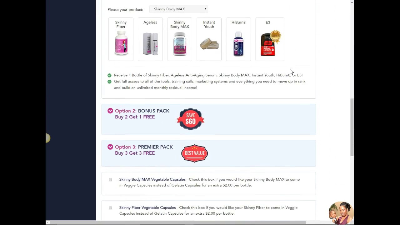 How To Access Your Skinny Body Care Free Account Back Office With Verlinda Sweeting
