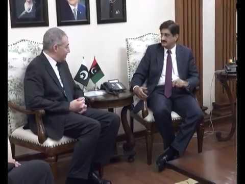 Sindh Chief Minister meets Ambassador of Turkey