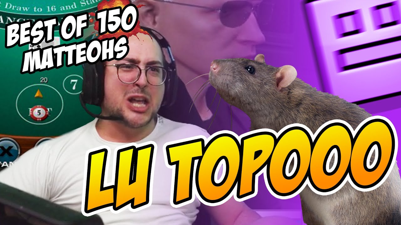 Ho TROVATO un TOPO in CASA!! | BEST OF MATTEOHS #150 | Twitch moments live