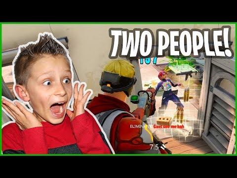 Two People at Once?!? Fortnite Solo