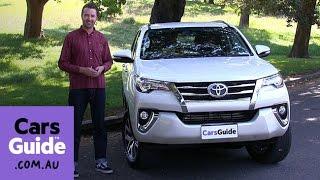2016 Toyota Fortuner хрестовий похід ручного огляд | ТОП 5 причин, щоб купити відео