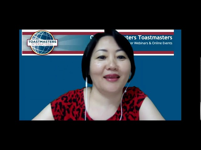 September 9, 2019 Replay - Online Presenters Toastmasters