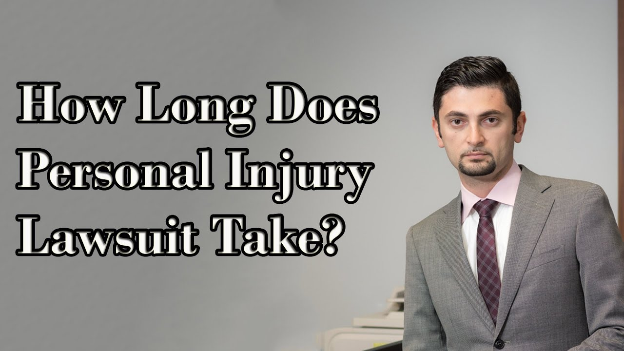 How Long Does My Personal Injury Lawsuit Take?