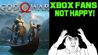 Xbox Executive Streams God Of War On PS4 And Xbox Fans Lose Their Minds!