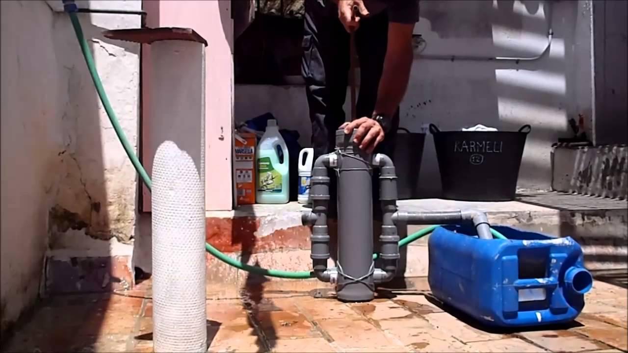Bomba de agua manual doble impulsi n youtube for Bomba de agua manual