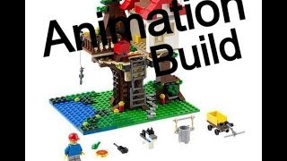 Lego Creator Treehouse Set # 31010  Animation Build
