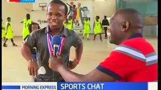 Parabadminton Athletes in Kenya   Morning Express Sports Chat