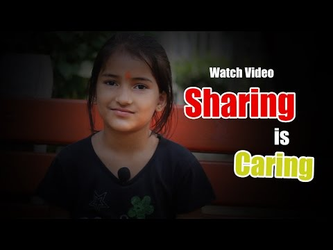 Sharing is Caring | Social Experiment on Kids | Sharing Can Buy Happiness | Desi Talkies