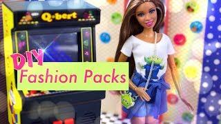 DIY - How to Make: Custom Doll Fashion Packs PLUS Barbie Toy Story 4 Fashion