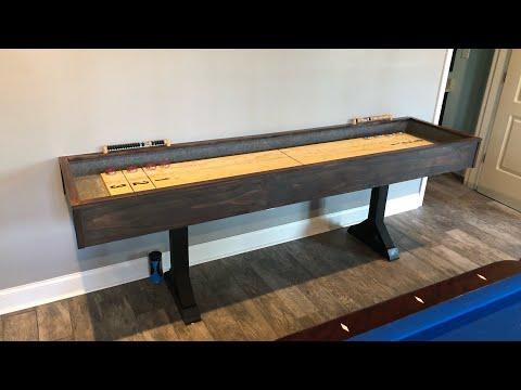 DIY Cheap Shuffleboard Table