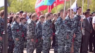 С днем победы ( клип о параде в Удомле-2016) Бессмертный полк
