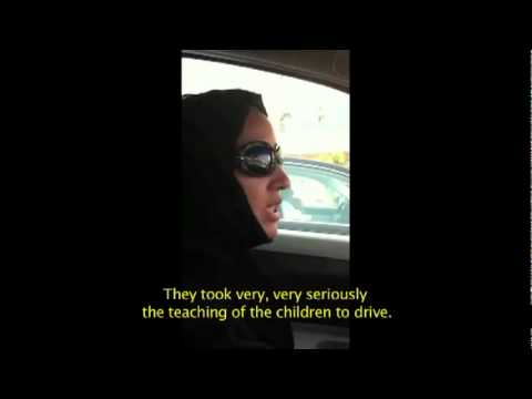 Manal Al Sharif driving in Saudi Arabia (with English subtitles) Travel Video