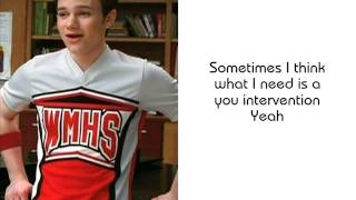 4 minutes glee lyrics