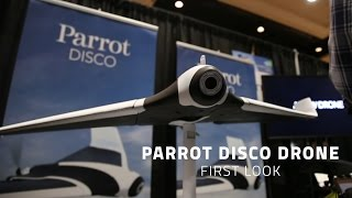 Parrot Disco Drone - First Look