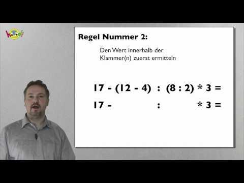 Klammerrechnung in der Mathematik - Grundlagenkurs