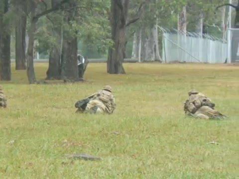206ACU Day with the Army - 3 RAR & 4 RAR, Holsworthy