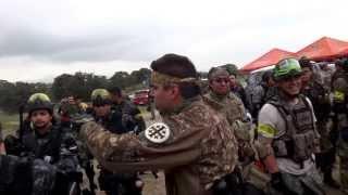 Monte Cassino Tala, Jalisco 2013 formación de tropas