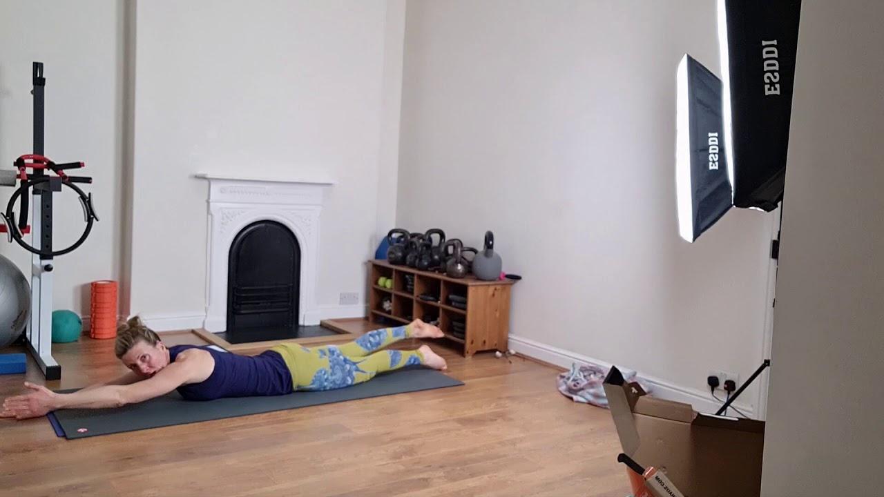 zoom mat pilates class