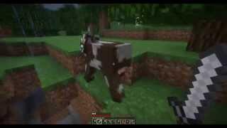 Minecraft HARDCORE - Шахта,дождик,животные... - 3 Серия