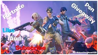 Fortnite PSN GIVEAWAY kingofhavoc MMC