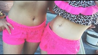 Getting My Belly Button Pierced! (With Thania)