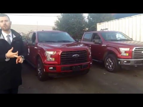 2016 F-150 XLT sport package vs chrome package
