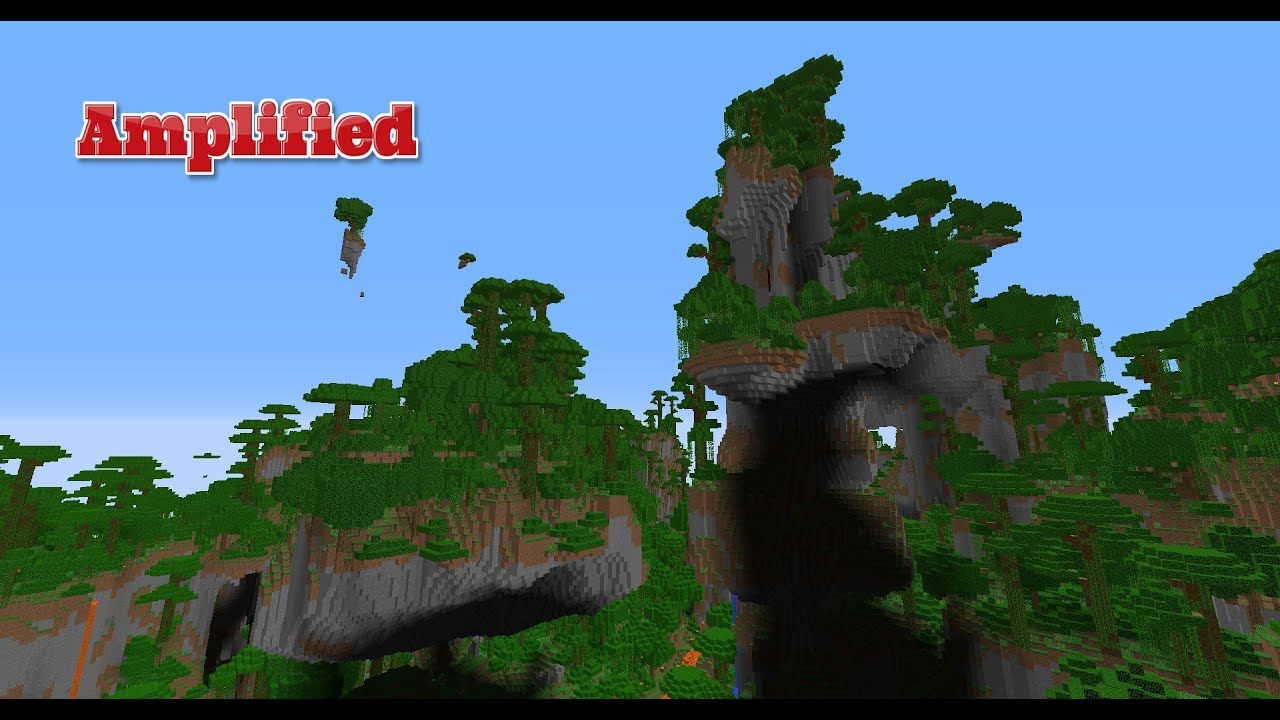 Minecraft 1 8 - Incredible Amplified Seed