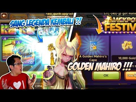 Line get rich : Akan kah legenda Mahiro kembali lagi ? Golden Mahiro rilis !!