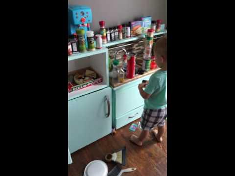 Toddler Makes a BIG Mess