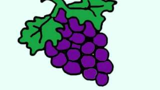 How to draw grapes - EP