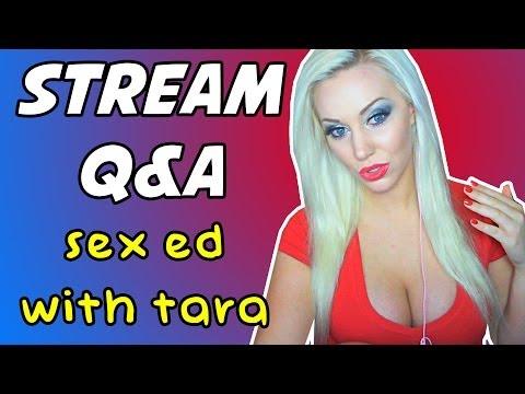 SEX ED WITH TARA! (and MTG) - Stream Q&A