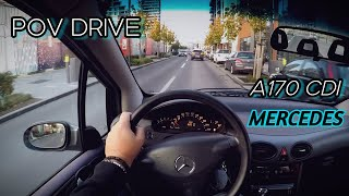 Mercedes-Benz A170 CDI (2004) | POV Drive