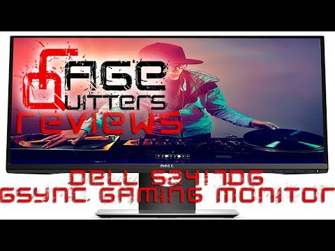 Dell S2417DG Gsync Gaming Monitor - RageQuitters Hardware Review