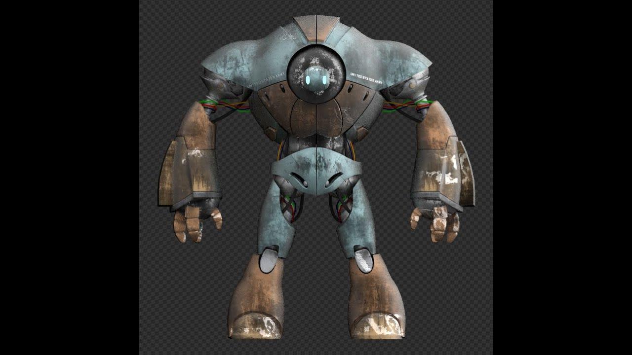 Speed modeling robot blend dans la description youtube - Robots mixeurs et blenders ...