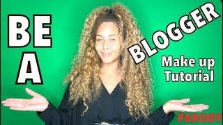 So wirst du ein Blogger  Make up Tutorial   nobeautychannel