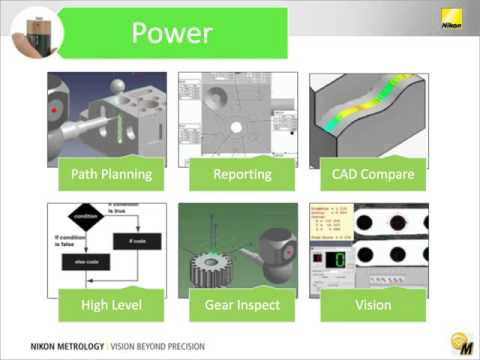 Expand your 3D Tactile and Video Measuring Capabilities with CMM-Manager