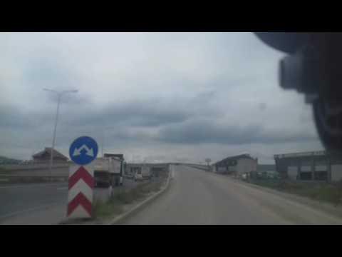 Road to Prishtina Airport