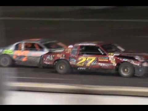 Lee County Speedway stock cars