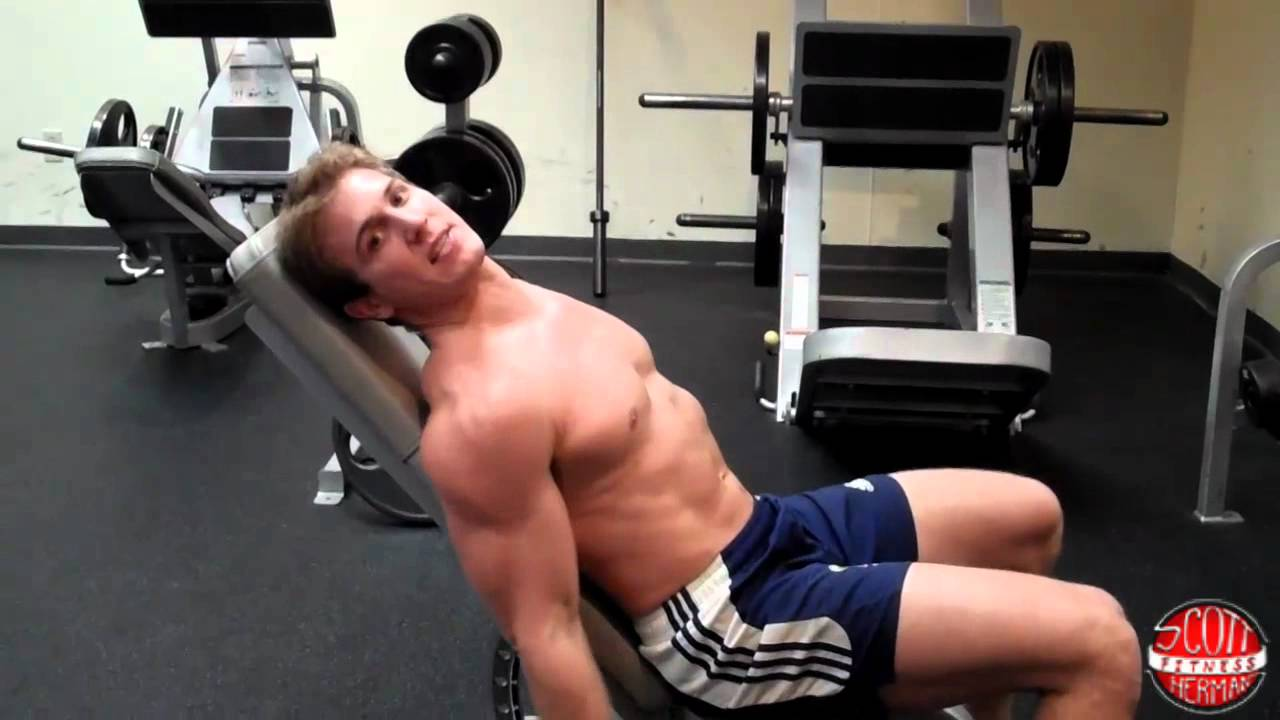 Iso-lateral Dumbbell Incline Bench Press Part - 19: How To: Seated Incline Dumbbell Bicep Curl - YouTube