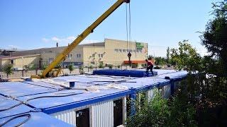Строительство двухэтажного модульного офисного административного здания КОНВЕЙТ<