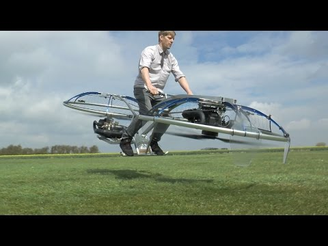 Quiddich Is No Longer Impossible With Homemade Hoverbike!