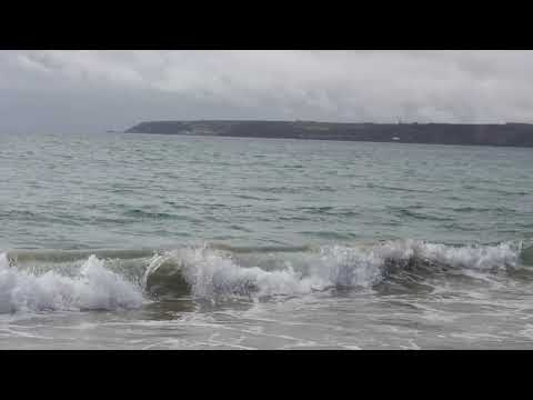 На берегу Атлантического океана(Англия, графство Корнуолл, Ньюквэй, 2013г.)