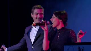 Eva Burešová a David Gránský  Ain't no mountain high enough na finále Dívka roku 2016