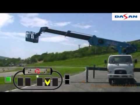 Инструкция по эксплуатации автовышки DASAN DS 280L на шасси HD-78