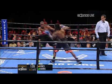 Jones vs Harris FULL FIGHT: PBC on Bounce - Sept. 18, 2015
