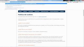 Cómo cumplir la política de cookies del nuevo RGPD